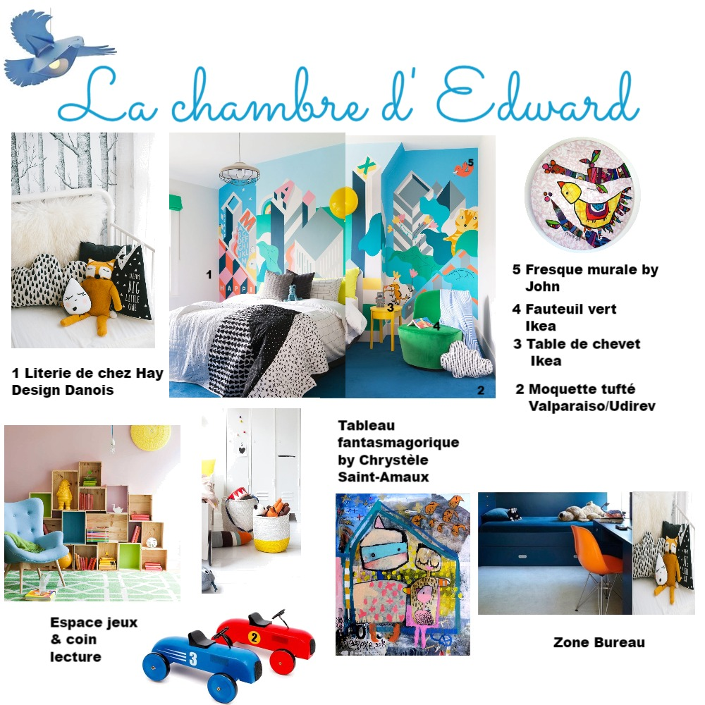 Chambre enfant Mood Board by ABARNOUSSI on Style Sourcebook
