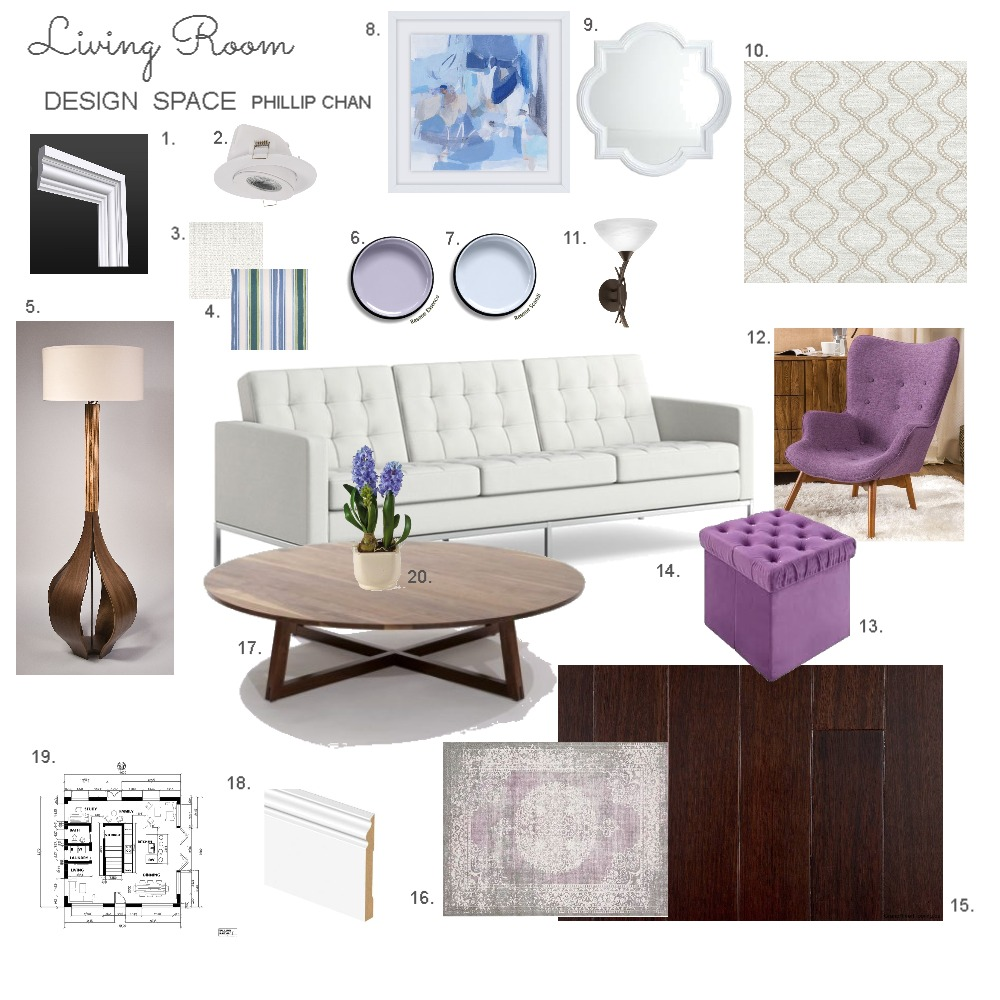 Living Space Phillip Chan Mood Board by Phillip_Chan on Style Sourcebook