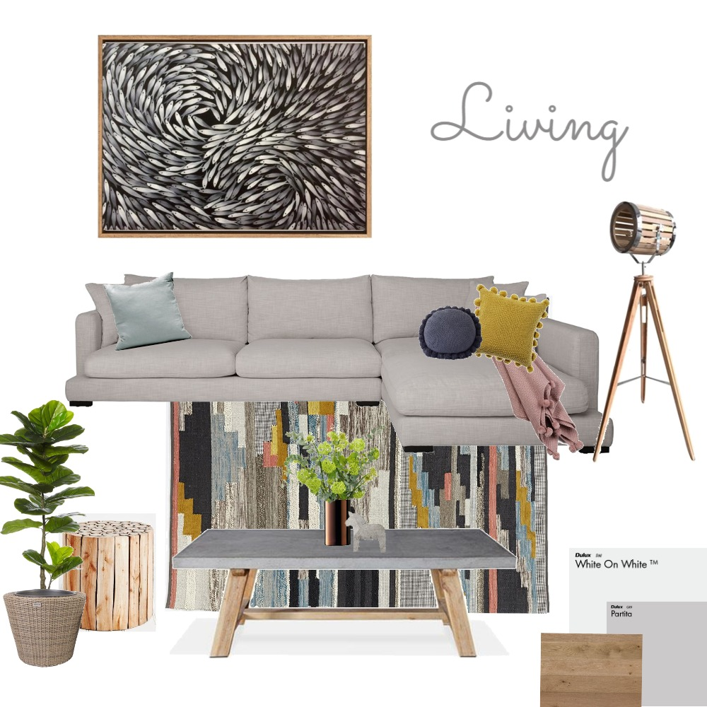 Living Mood Board by dritlop on Style Sourcebook