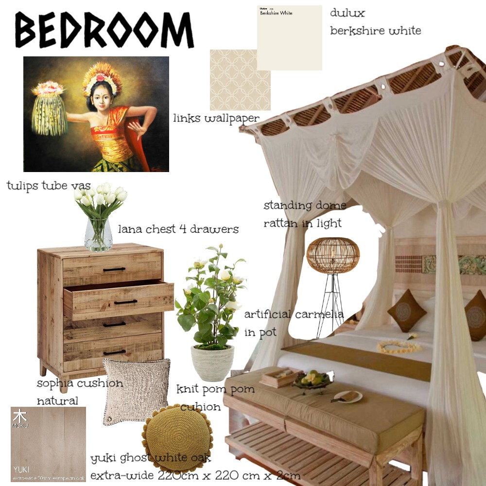 BEDROOM Mood Board by neysaauliaa on Style Sourcebook