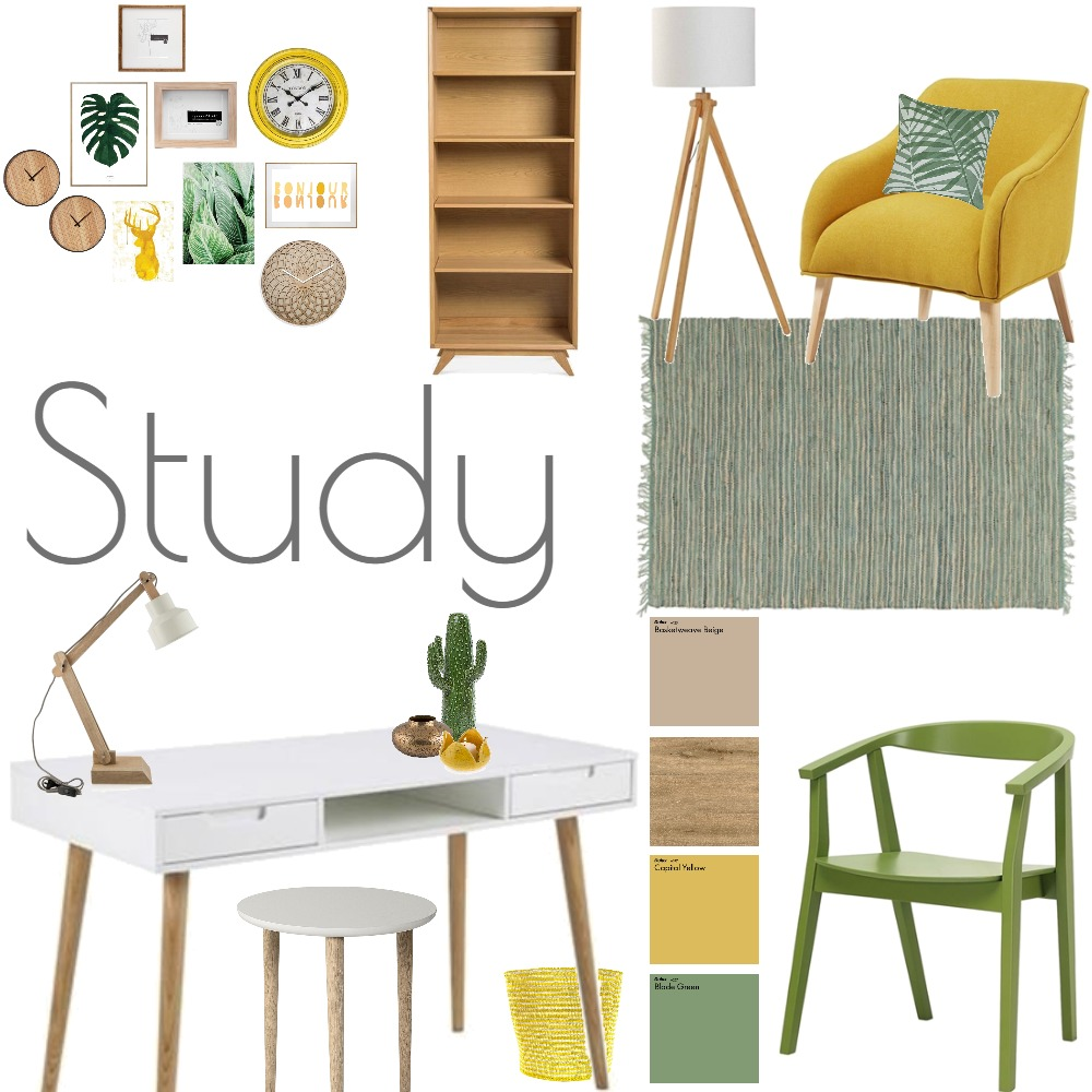 Study Mood Board by Madre11 on Style Sourcebook