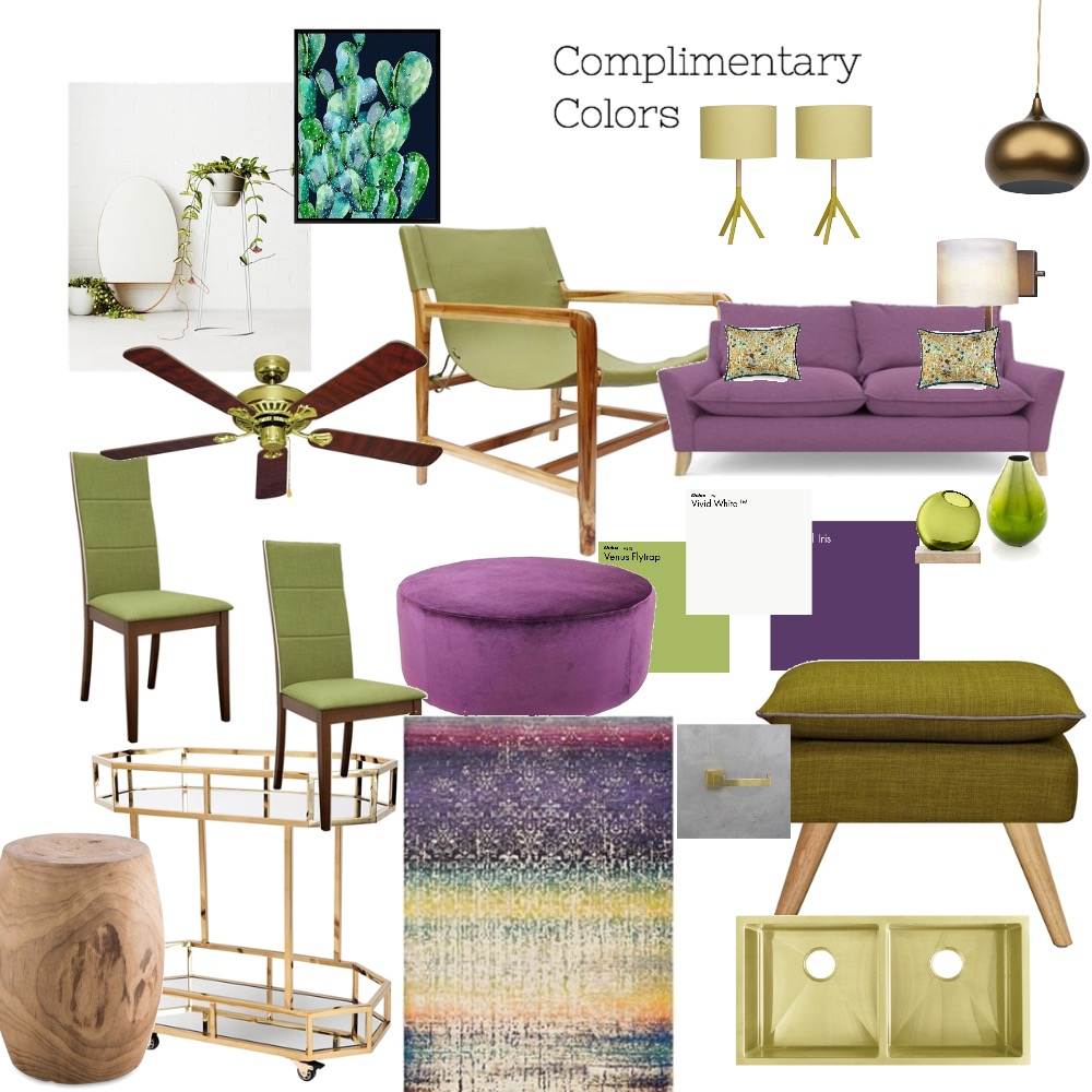complimentary colours Mood Board by Catleyland on Style Sourcebook