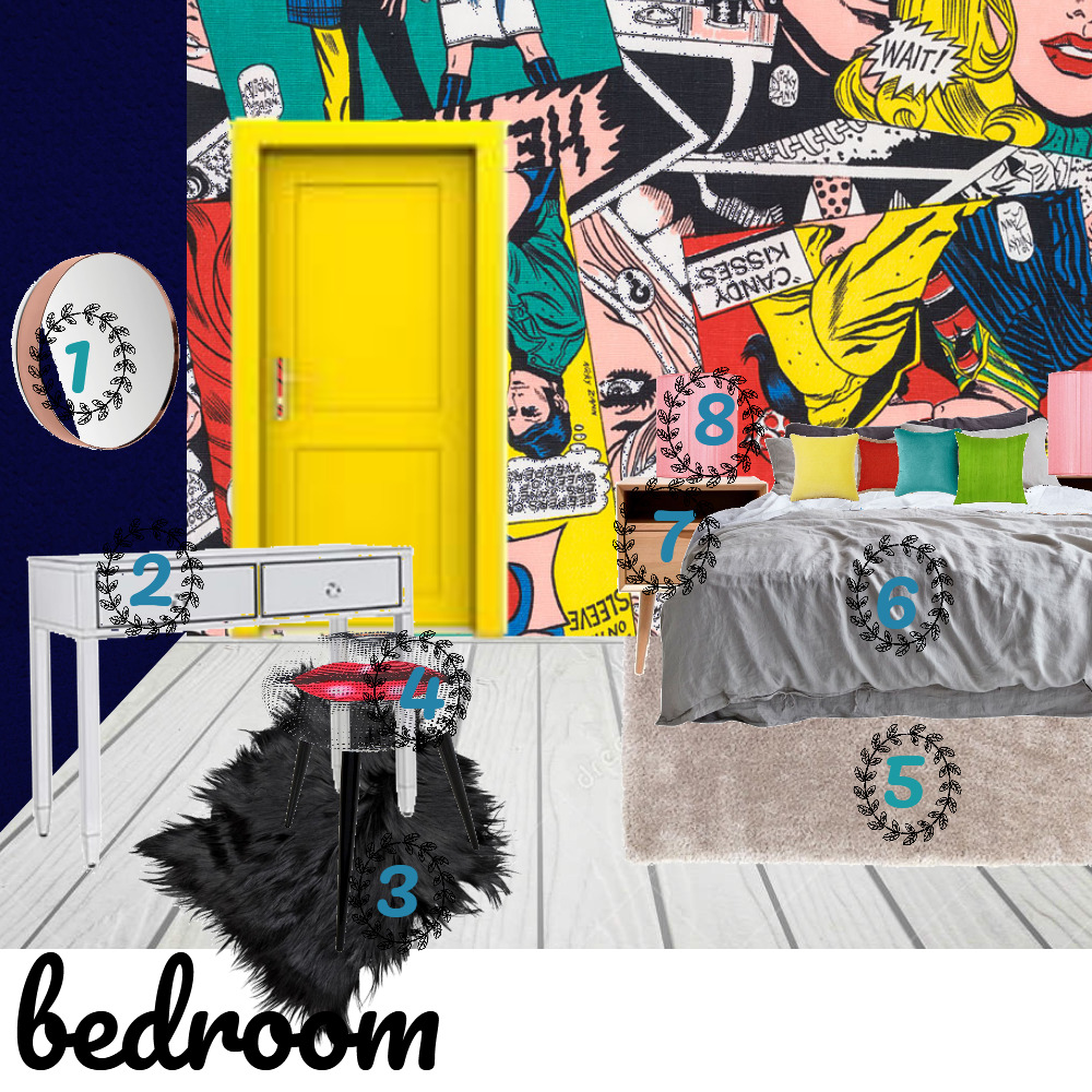 bedroom Interior Design Mood Board by tsbtsabita on Style Sourcebook