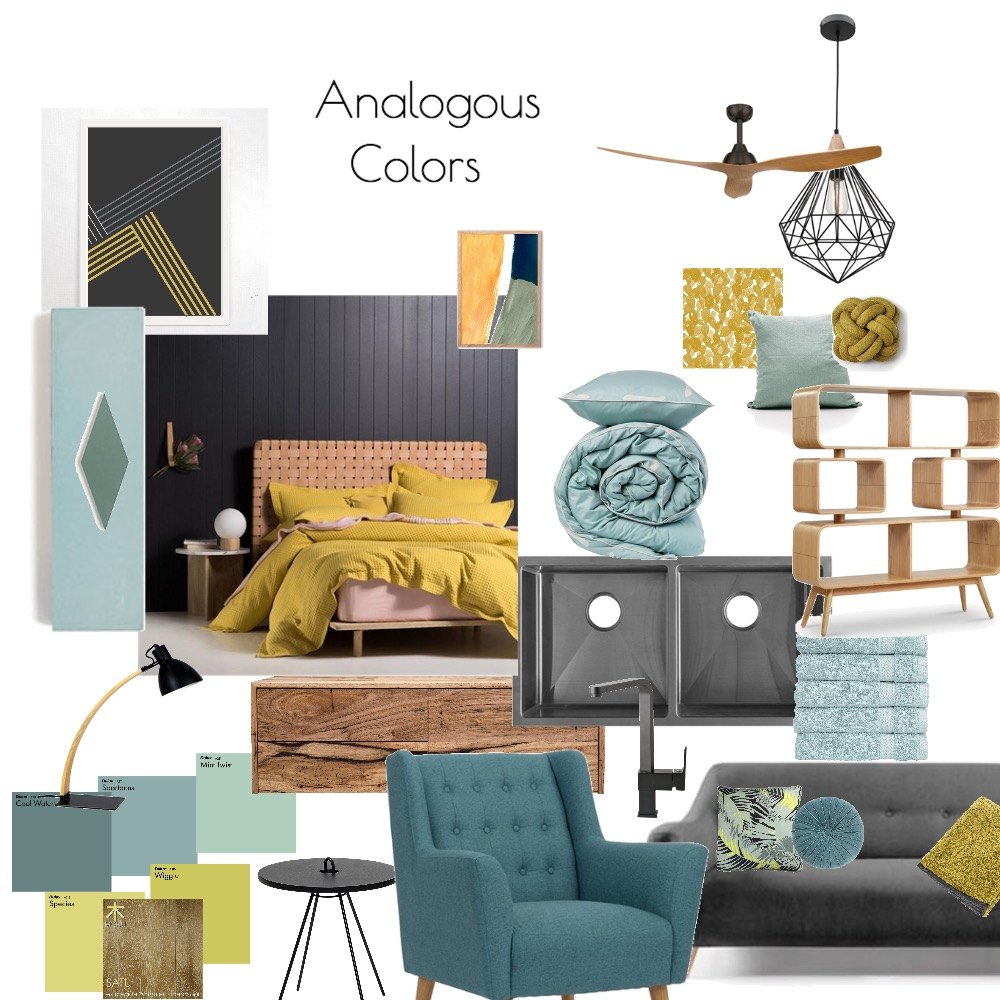 Analogous colors Mood Board by Catleyland on Style Sourcebook