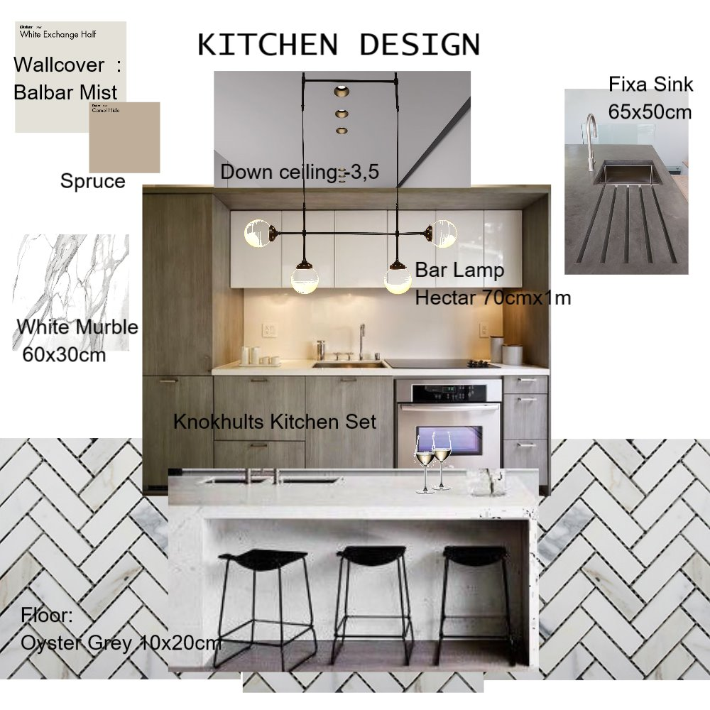 Kitchen design Mood Board by wahyuoctar on Style Sourcebook