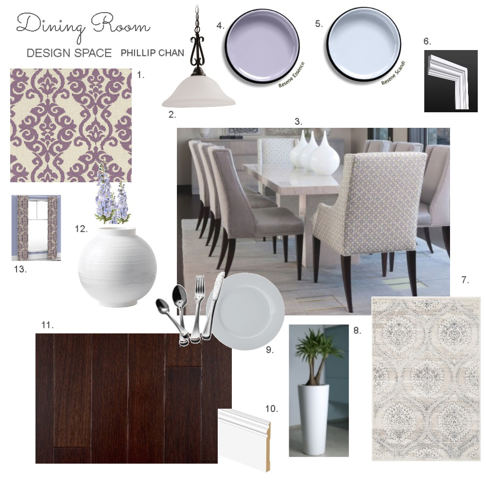 Dining room mood board Phillip Chan Mood Board by Phillip_Chan on Style Sourcebook