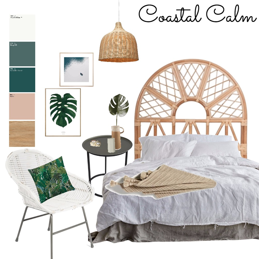Coastal Bedroom Mood Board by ChampagneAndCoconuts on Style Sourcebook