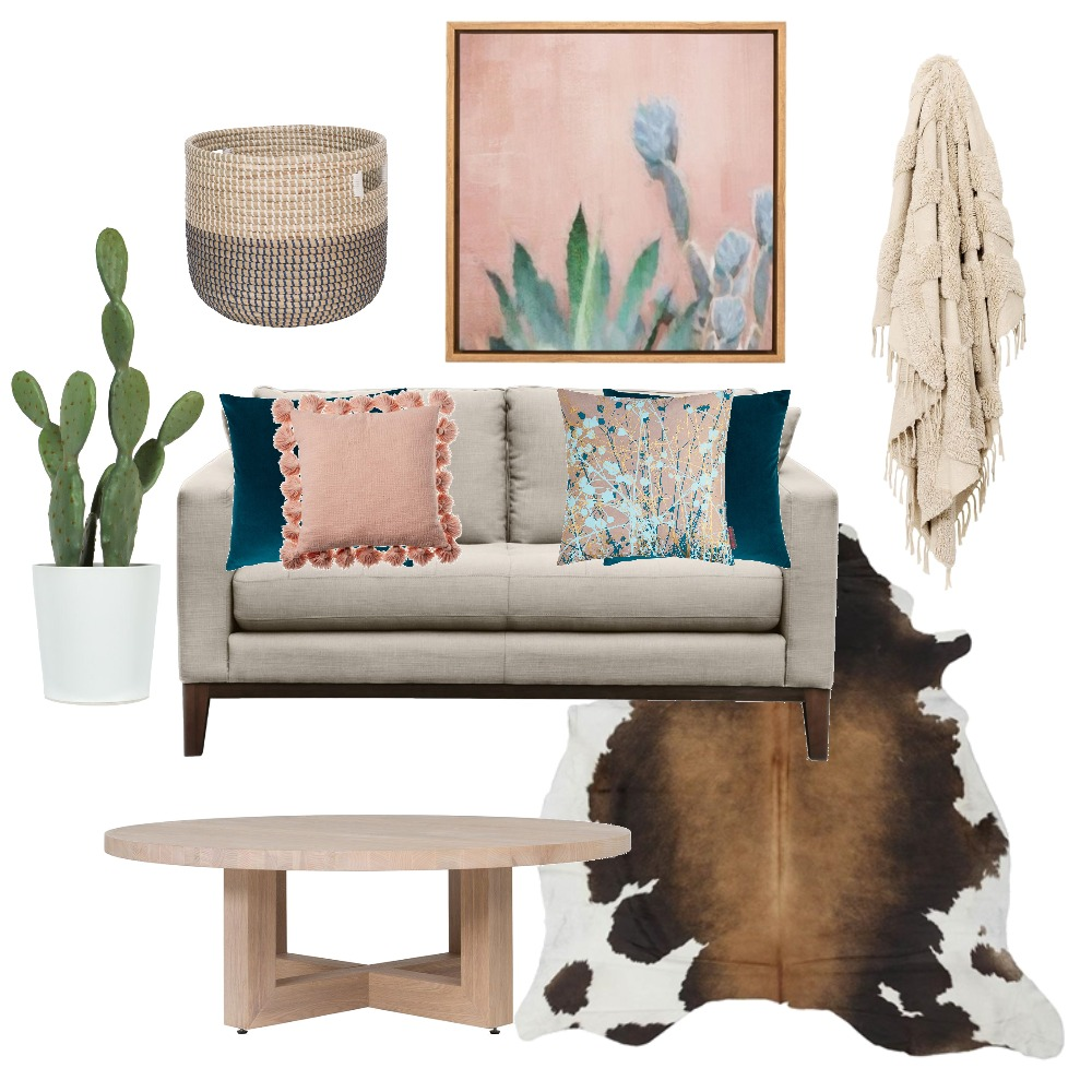 Cactus Living Room Mood Board by nellcasey on Style Sourcebook