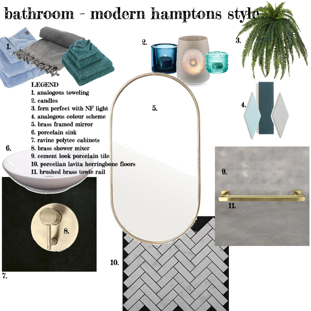 module nine bathroom Interior Design Mood Board by FionaGatto on Style Sourcebook