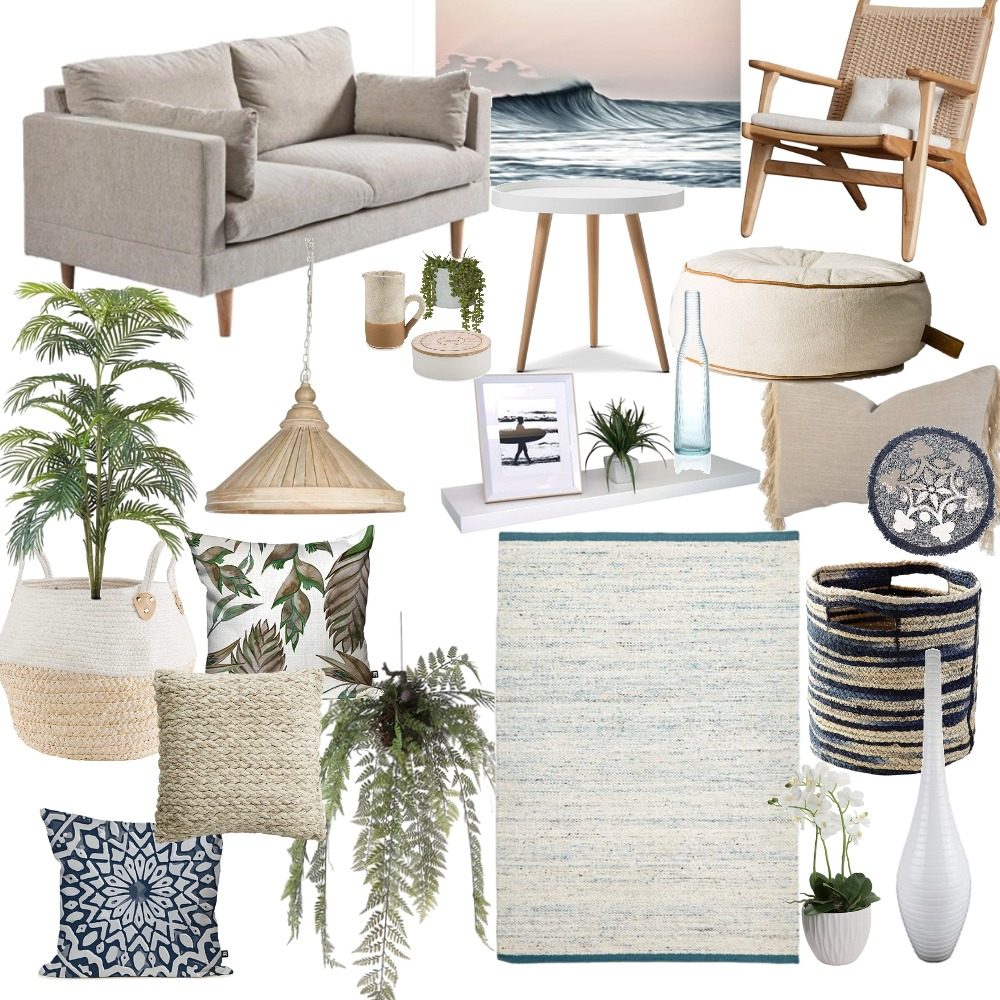 Coastal Living Mood Board by Ayesha on Style Sourcebook