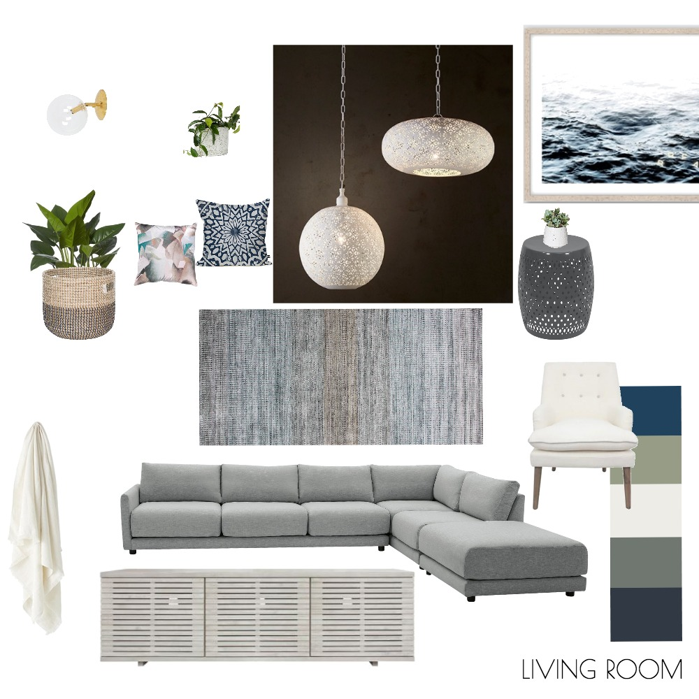 LIVING 1 Mood Board by makermaystudio on Style Sourcebook