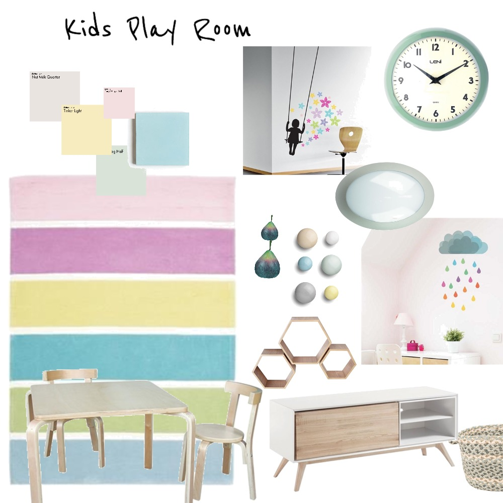 Kids play room Mood Board by Catleyland on Style Sourcebook