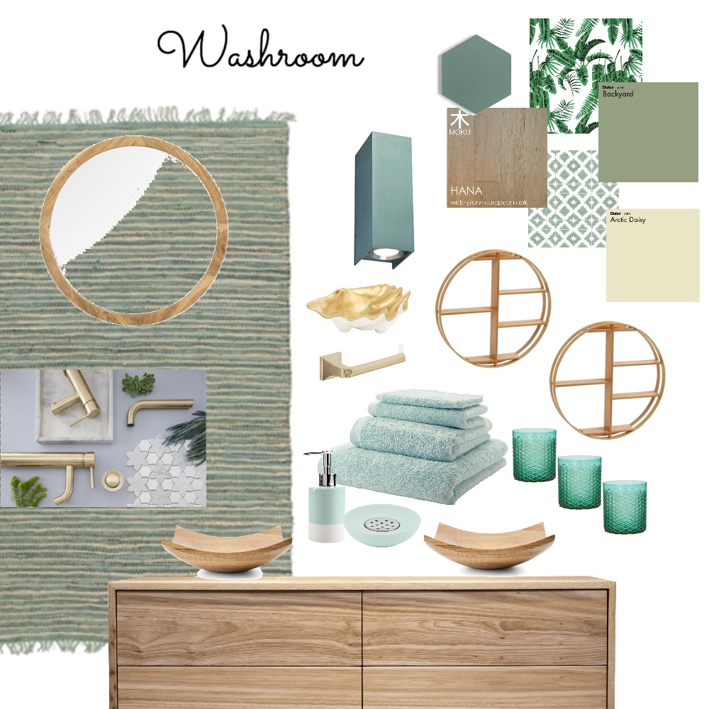 Washroom Mood Board by Catleyland on Style Sourcebook