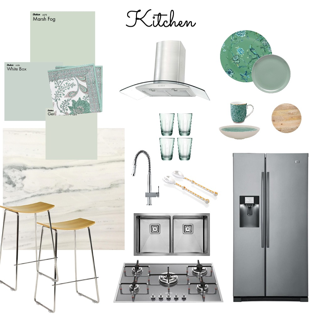 Kitchen Mood Board by Catleyland on Style Sourcebook