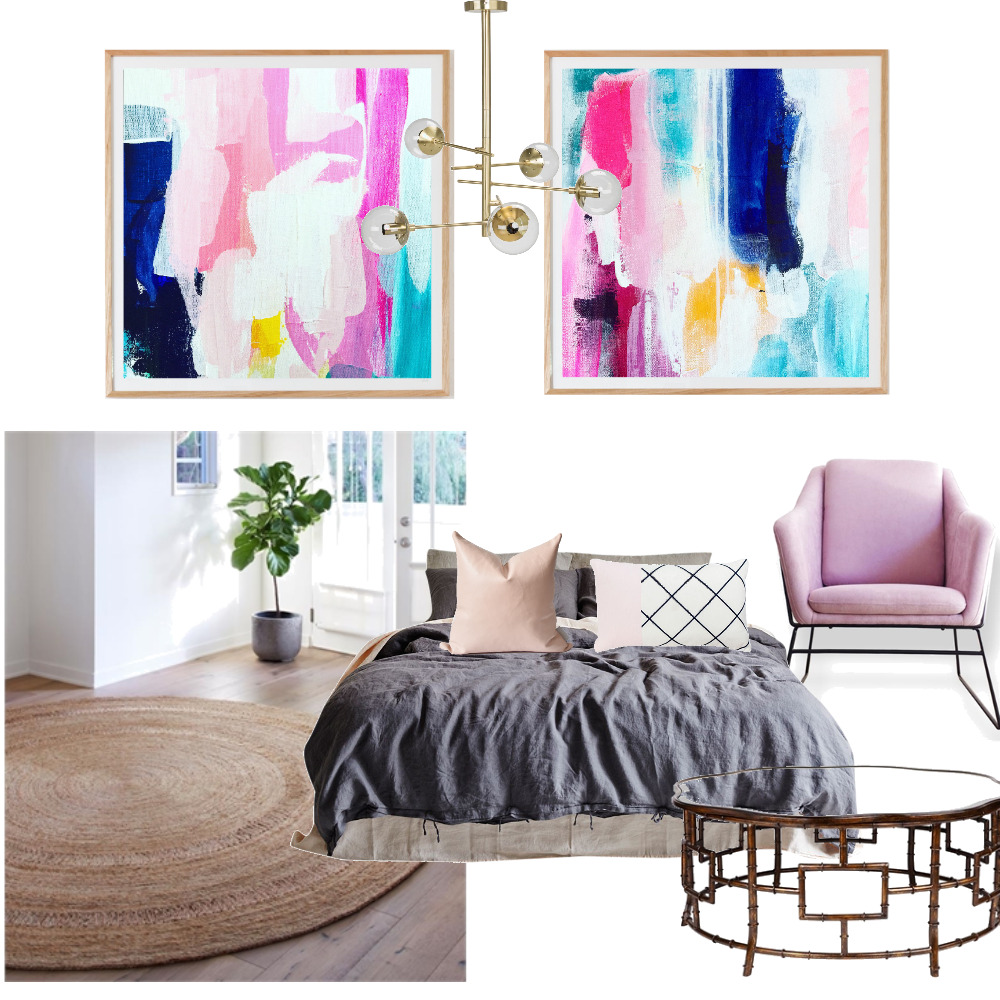 Bedroom Blossoms Mood Board by DaniiLLe on Style Sourcebook