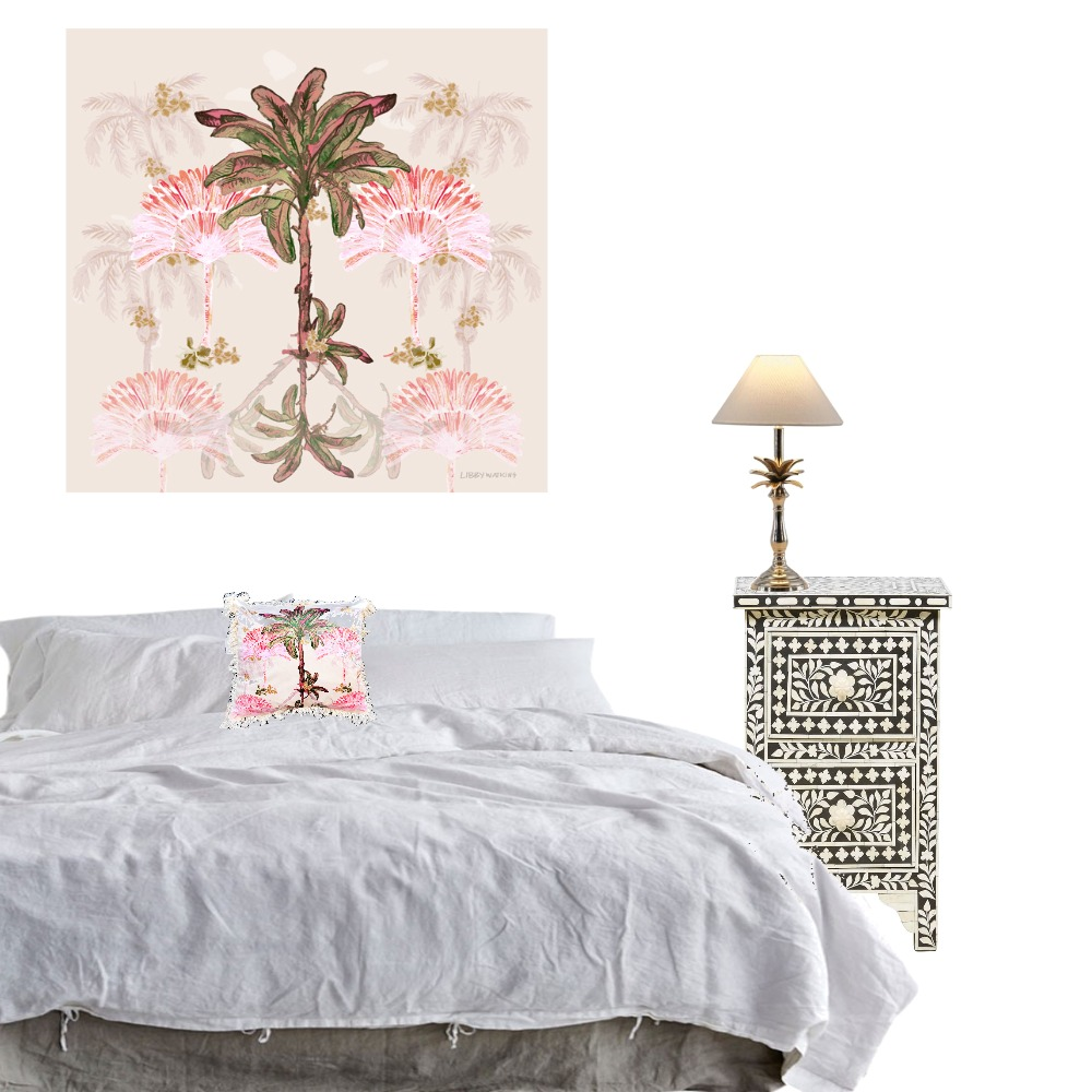 Palm Hills Bedroom art Mood Board by Libby Watkins on Style Sourcebook