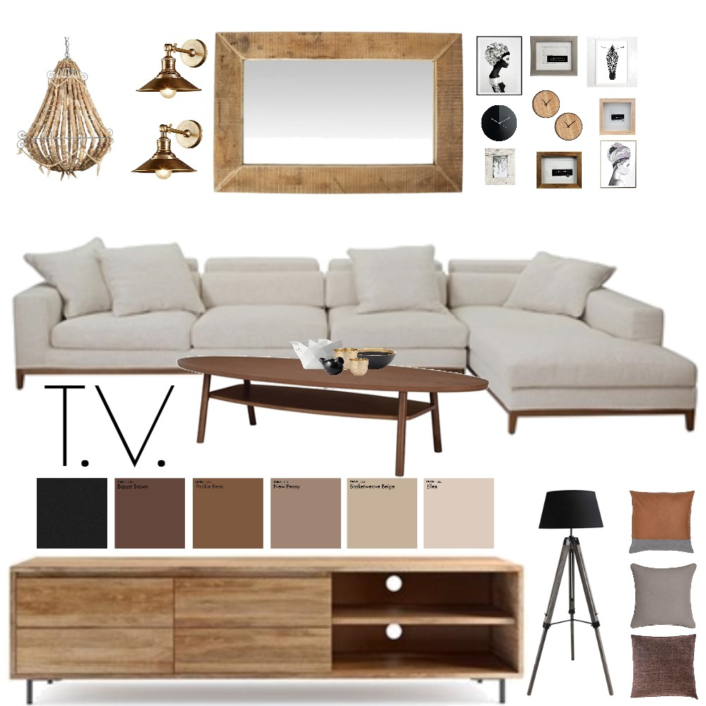TV ROOM Mood Board by Madre11 on Style Sourcebook