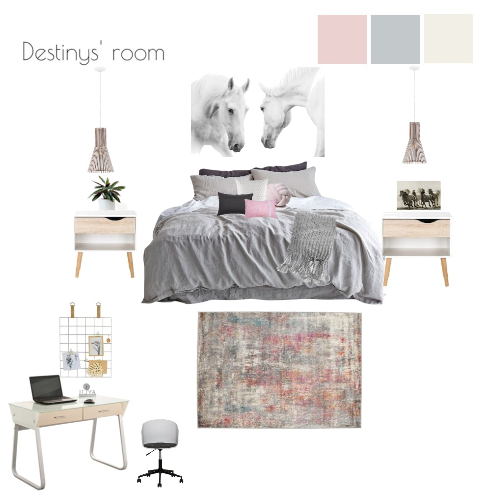 Destiny's room Interior Design Mood Board by SueC on Style Sourcebook