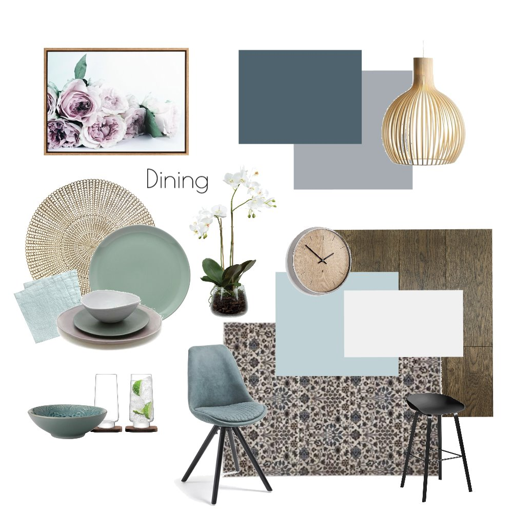 Altona Project - Dining Draft Mood Board by White With One Interior Design on Style Sourcebook