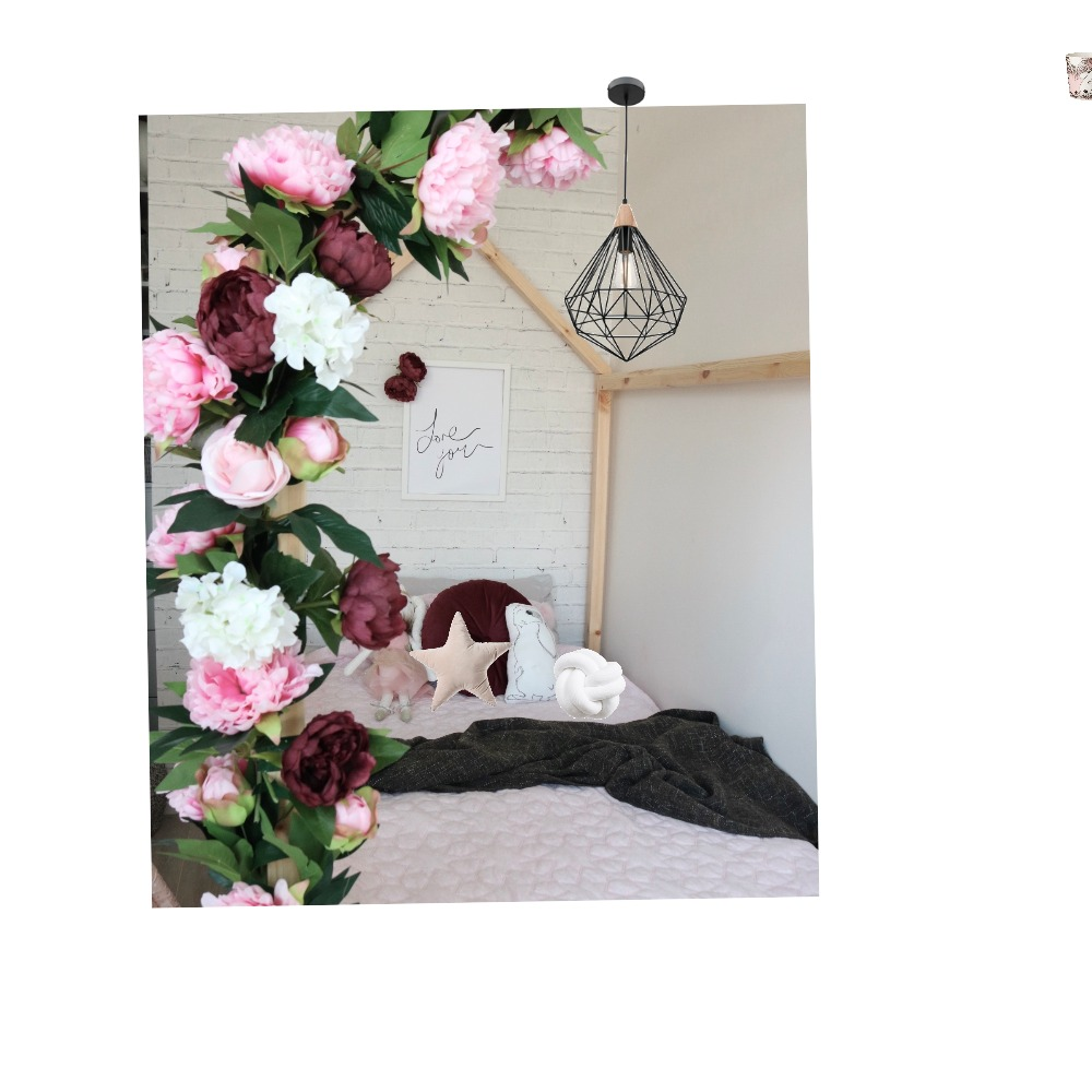 floral bed Interior Design Mood Board by ZIINK on Style Sourcebook
