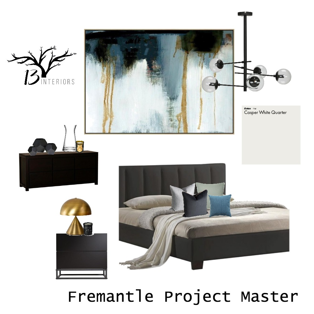 Fremantle Master Mood Board by 13 Interiors on Style Sourcebook