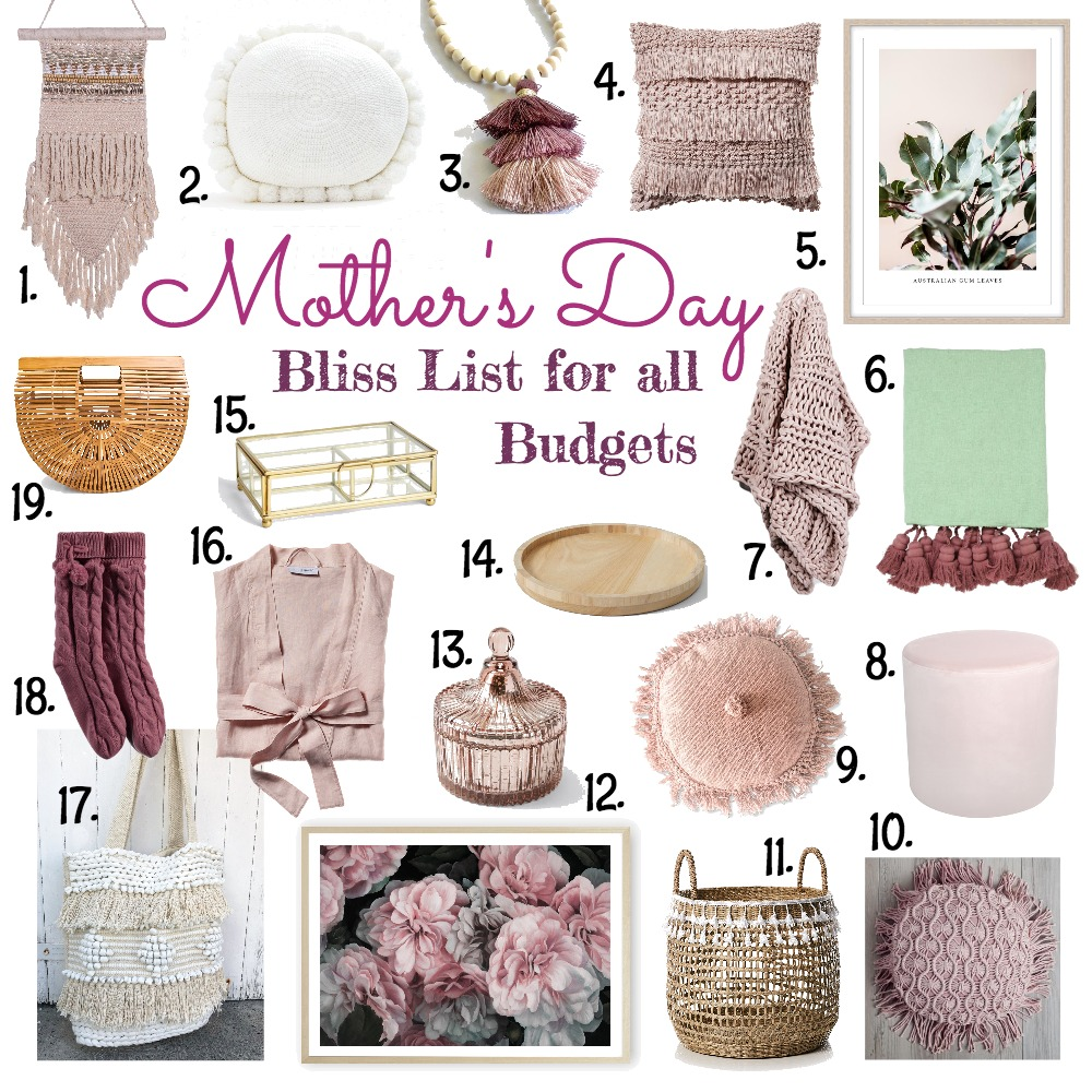 Mother's Day Bliss List Mood Board by My Kind Of Bliss on Style Sourcebook