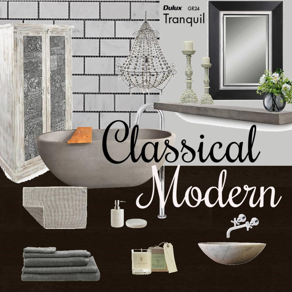 classical Modern Mood Board by Pauladesigns on Style Sourcebook
