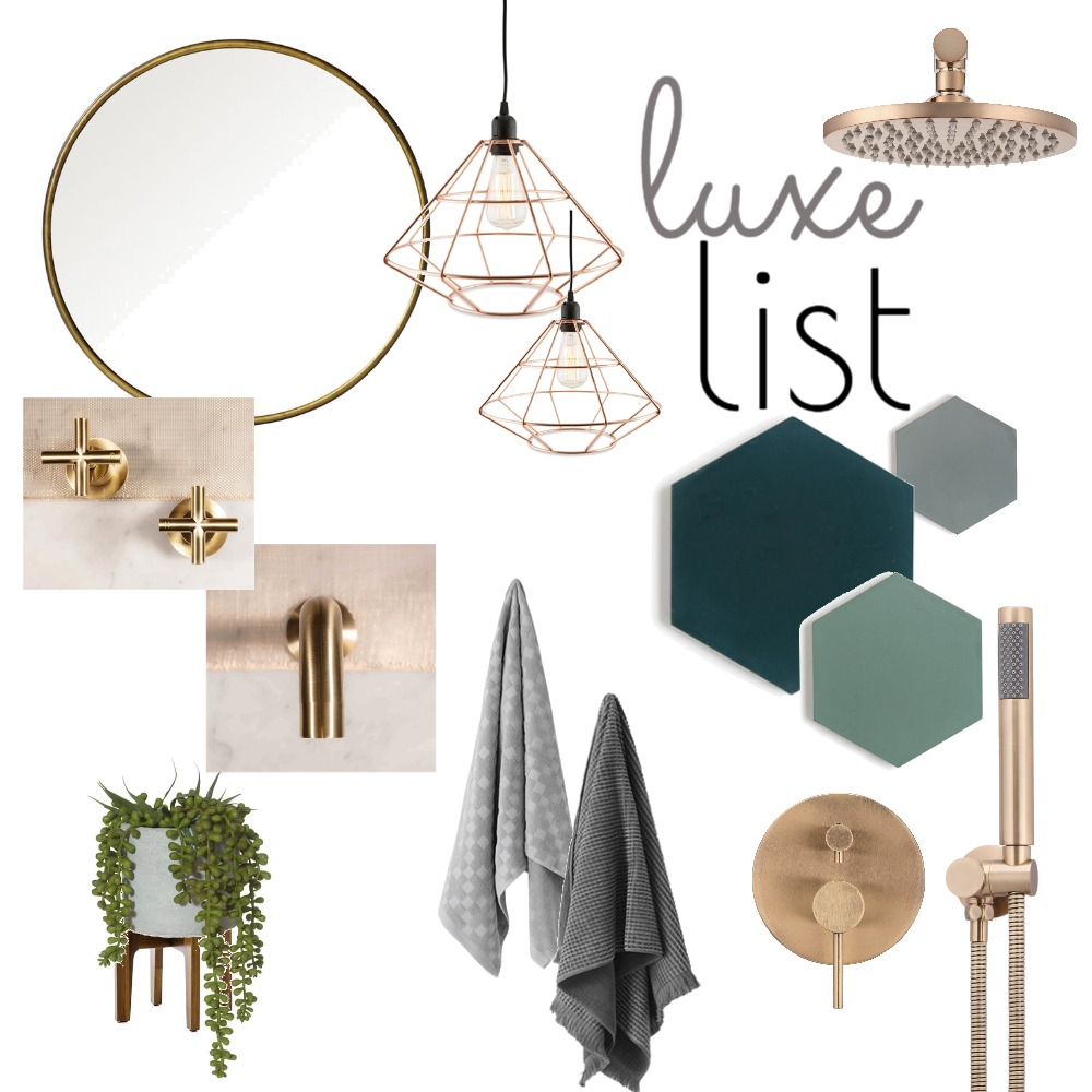 Luxe List Mood Board by Meir on Style Sourcebook