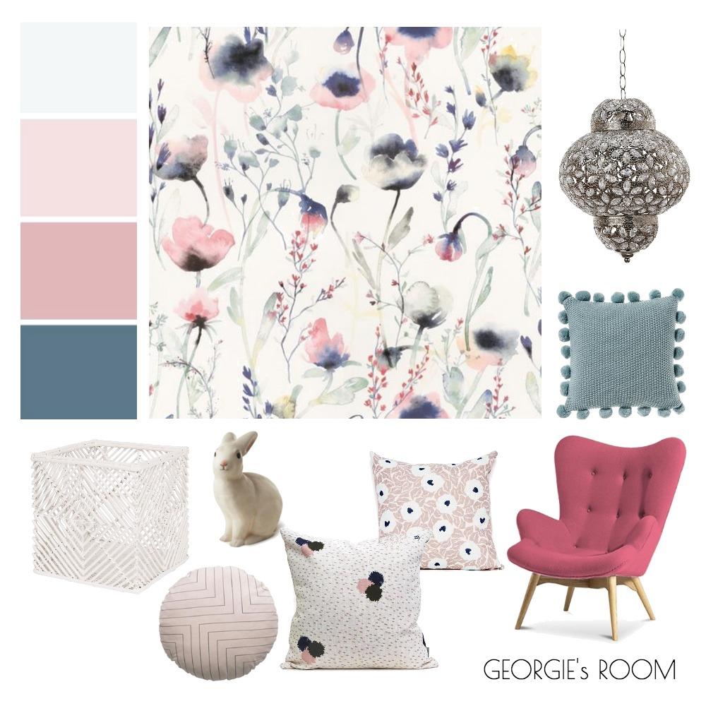 GEORGIES ROOM Mood Board by makermaystudio on Style Sourcebook