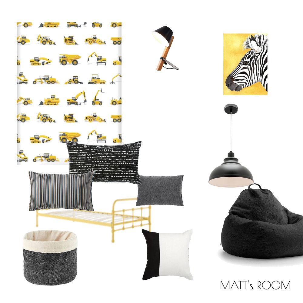MATTS ROOM Mood Board by makermaystudio on Style Sourcebook