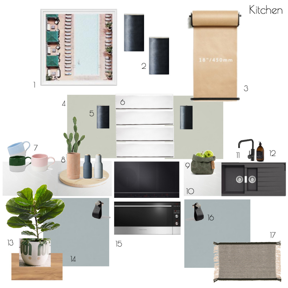 Kitchen Mood Board by The Place Project on Style Sourcebook