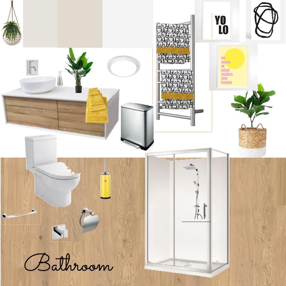 Room 4 Bathroom Mood Board by Anna on Style Sourcebook