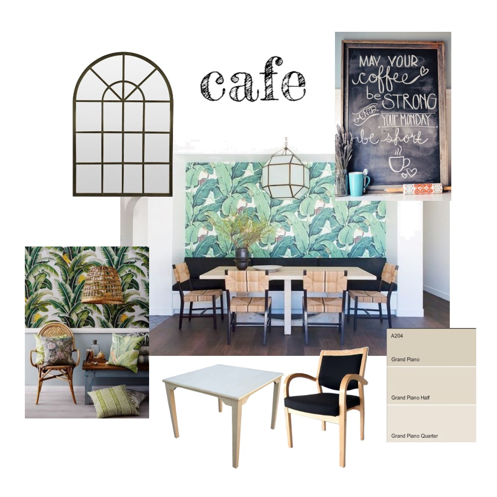 LV VILLAGE CAFE Mood Board by Jo Daly Interiors on Style Sourcebook