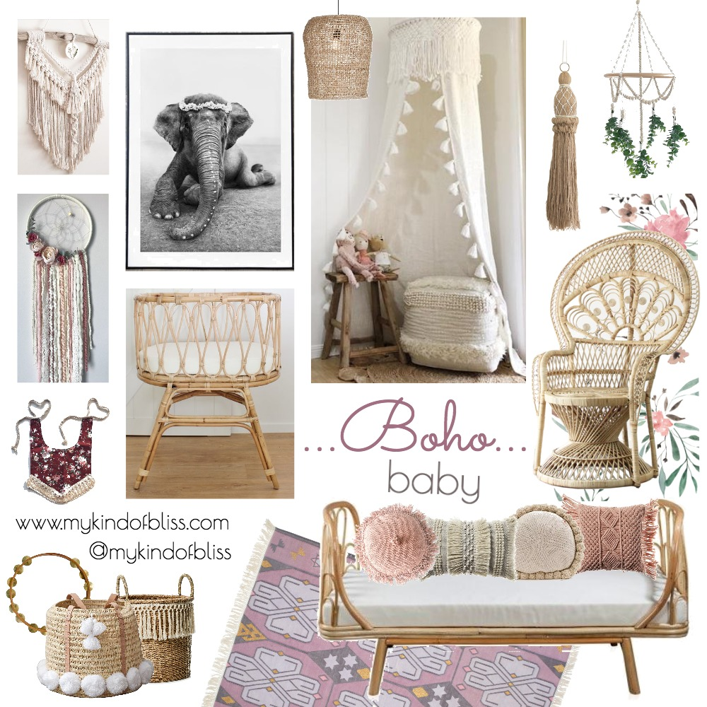 Boho Baby Mood Board by My Kind Of Bliss on Style Sourcebook