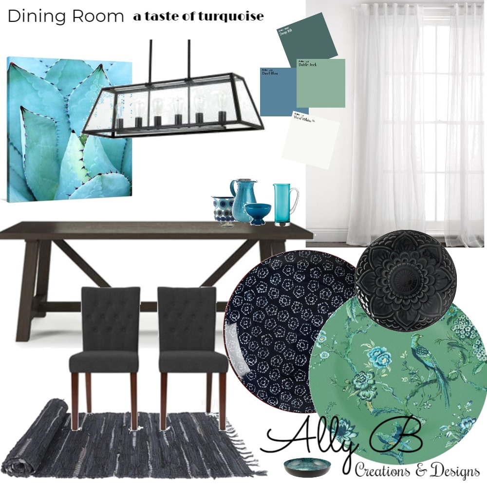 Dining Room Mood Board by allyb on Style Sourcebook