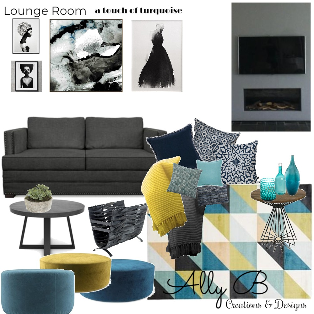 Lounge Room Mood Board by allyb on Style Sourcebook