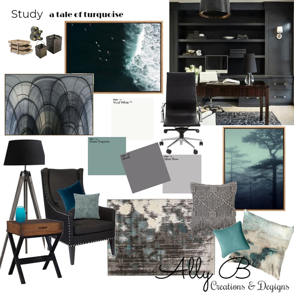 Study/Office Mood Board by allyb on Style Sourcebook