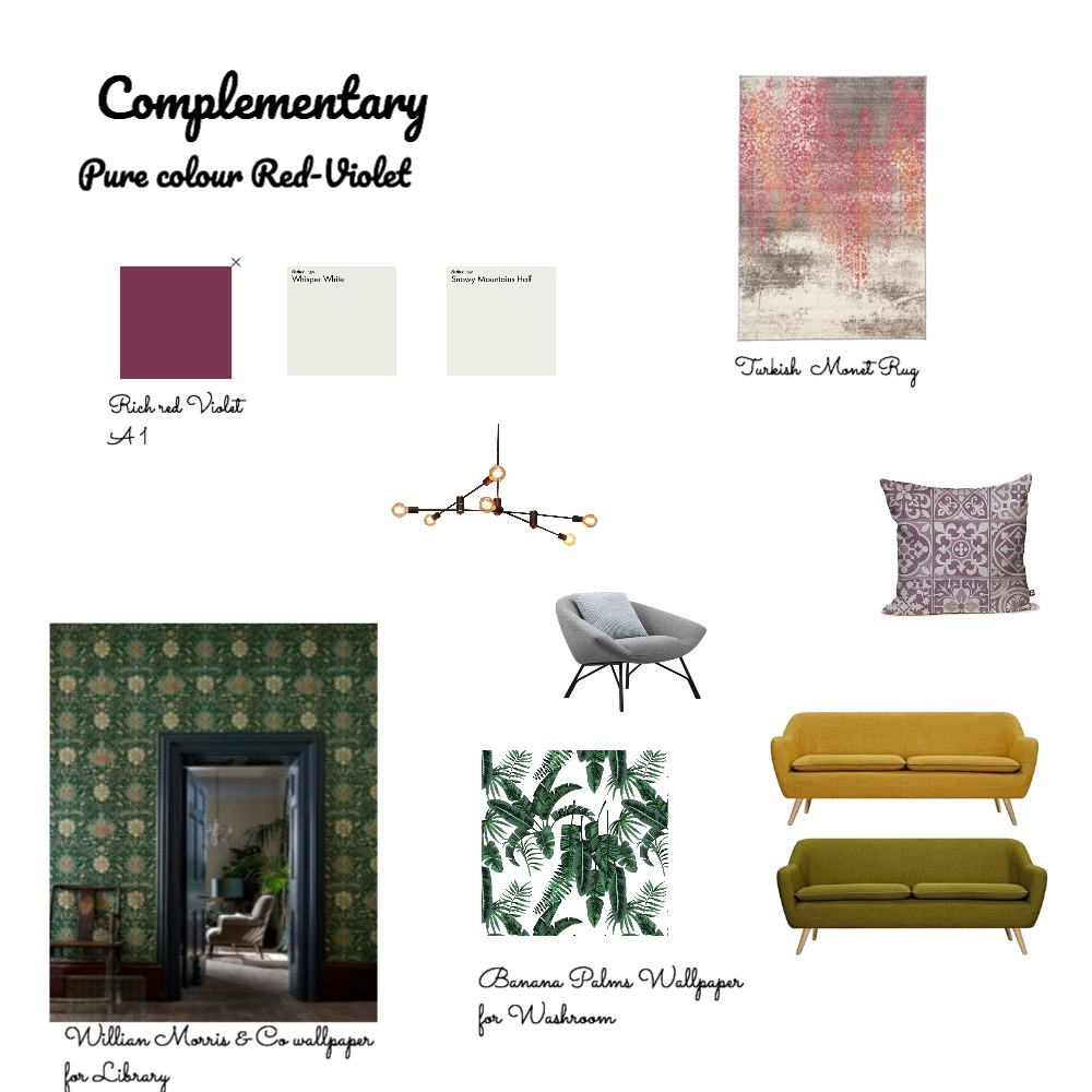 Complementary Mood Board by pmccallan0 on Style Sourcebook