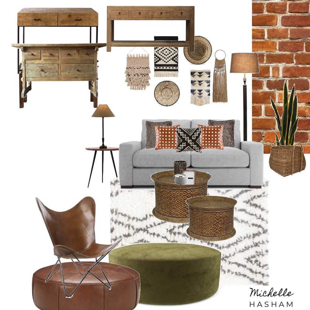 The Tribal Home Mood Board by Michelle Hasham on Style Sourcebook