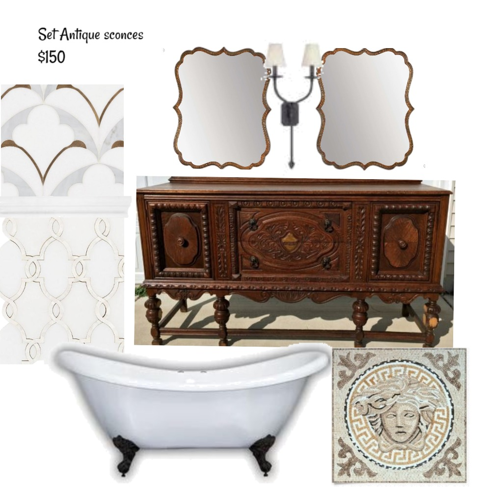 Monis-Wright Master Bath Mood Board by Nicoletteshagena on Style Sourcebook