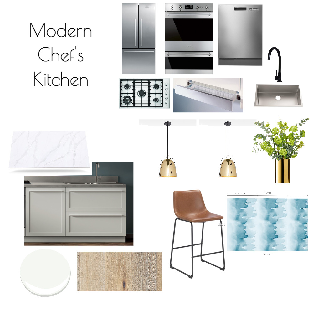 Modern Kitchen Mood Board by asadofsky on Style Sourcebook