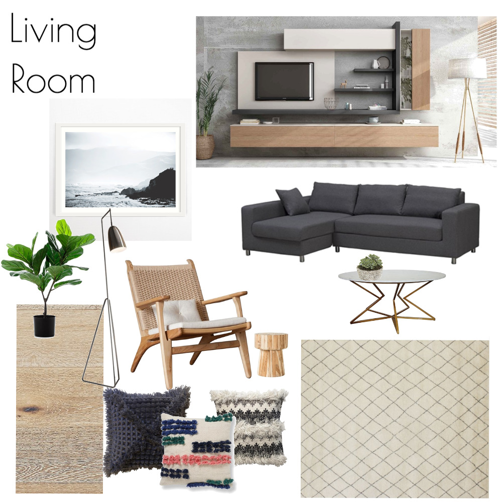Living Room Mood Board by asadofsky on Style Sourcebook