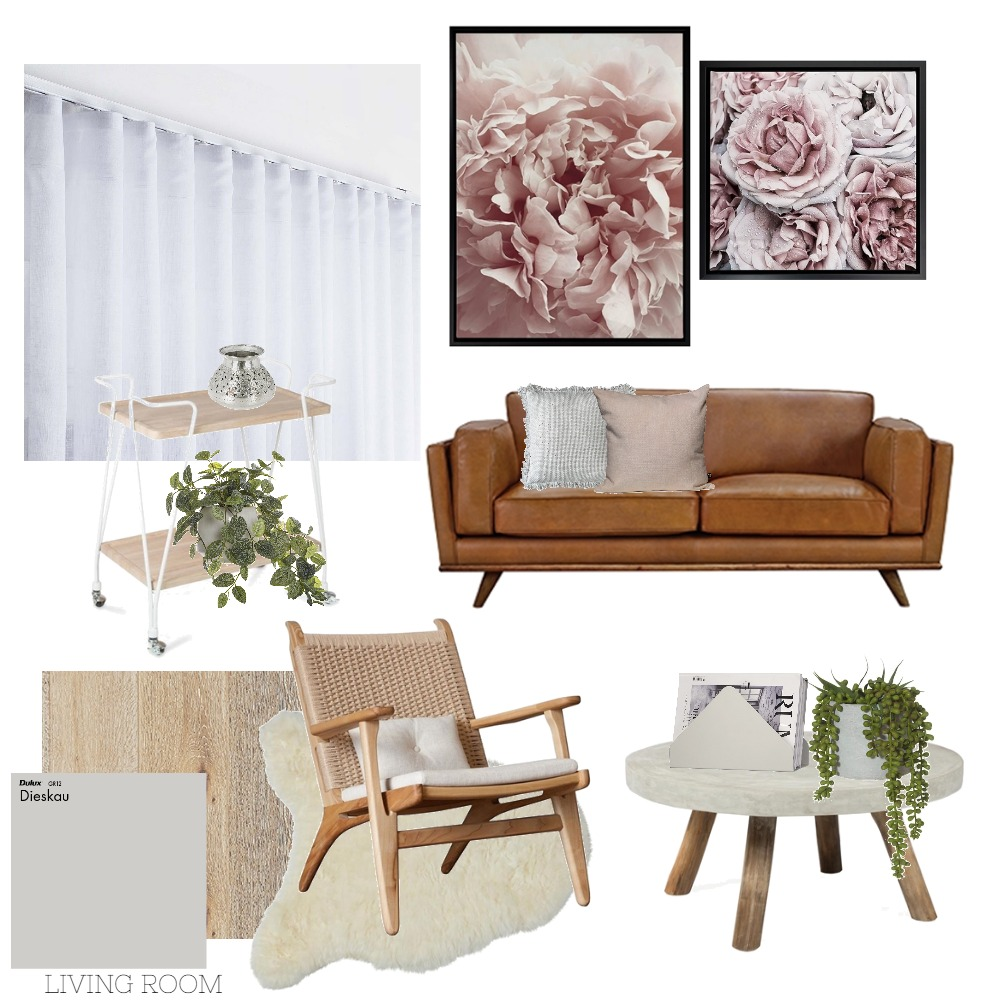 Living room Mood Board by Rebecca Kurka on Style Sourcebook