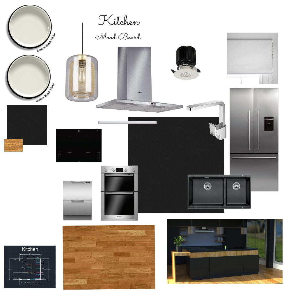 Kitchen Mood Board Assignment 10 Mood Board by Phillip_Chan on Style Sourcebook