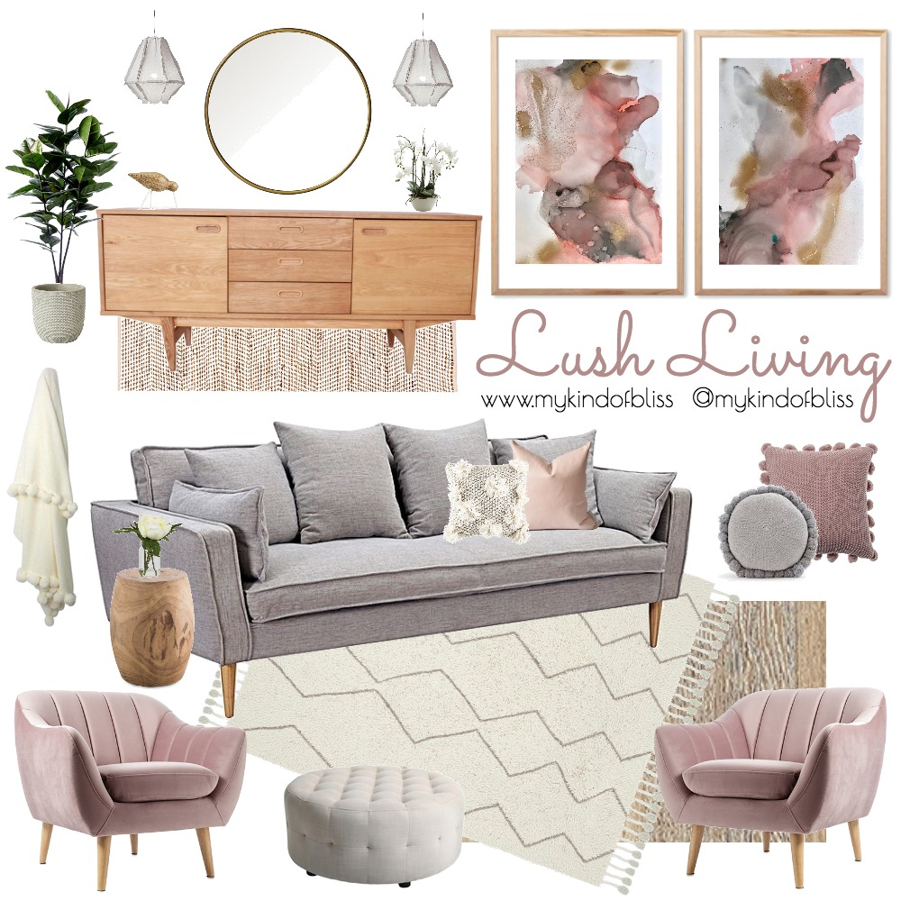 Lush Living Mood Board by My Kind Of Bliss on Style Sourcebook