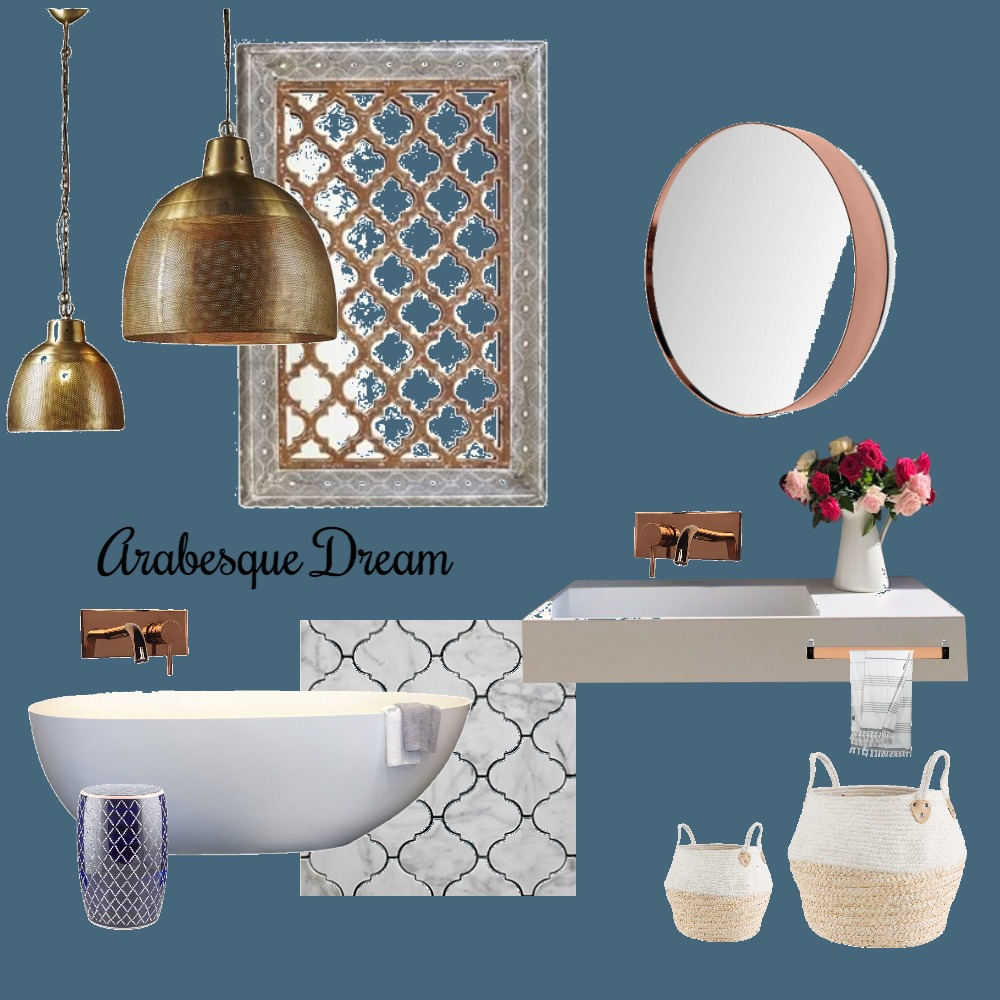 Arabesque Dream Mood Board by Just In Place on Style Sourcebook