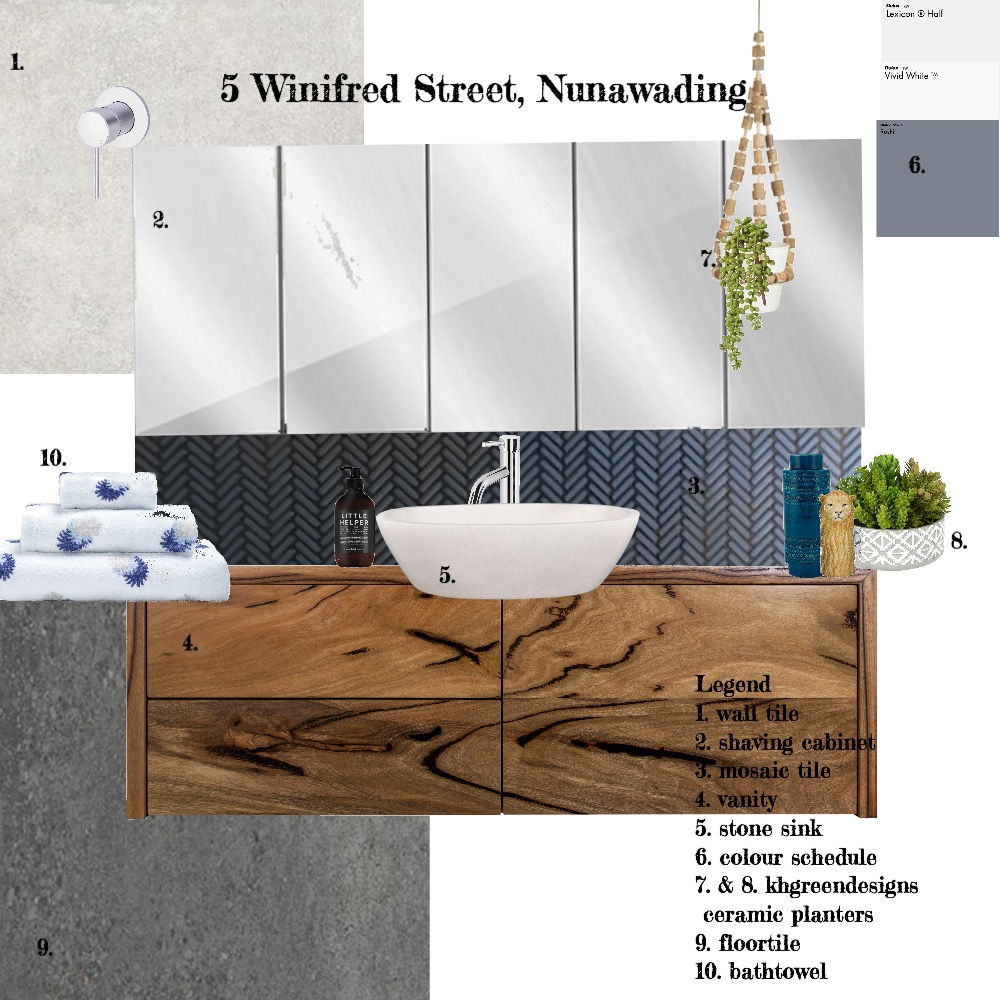 5 Winifred St Mood Board by FionaGatto on Style Sourcebook