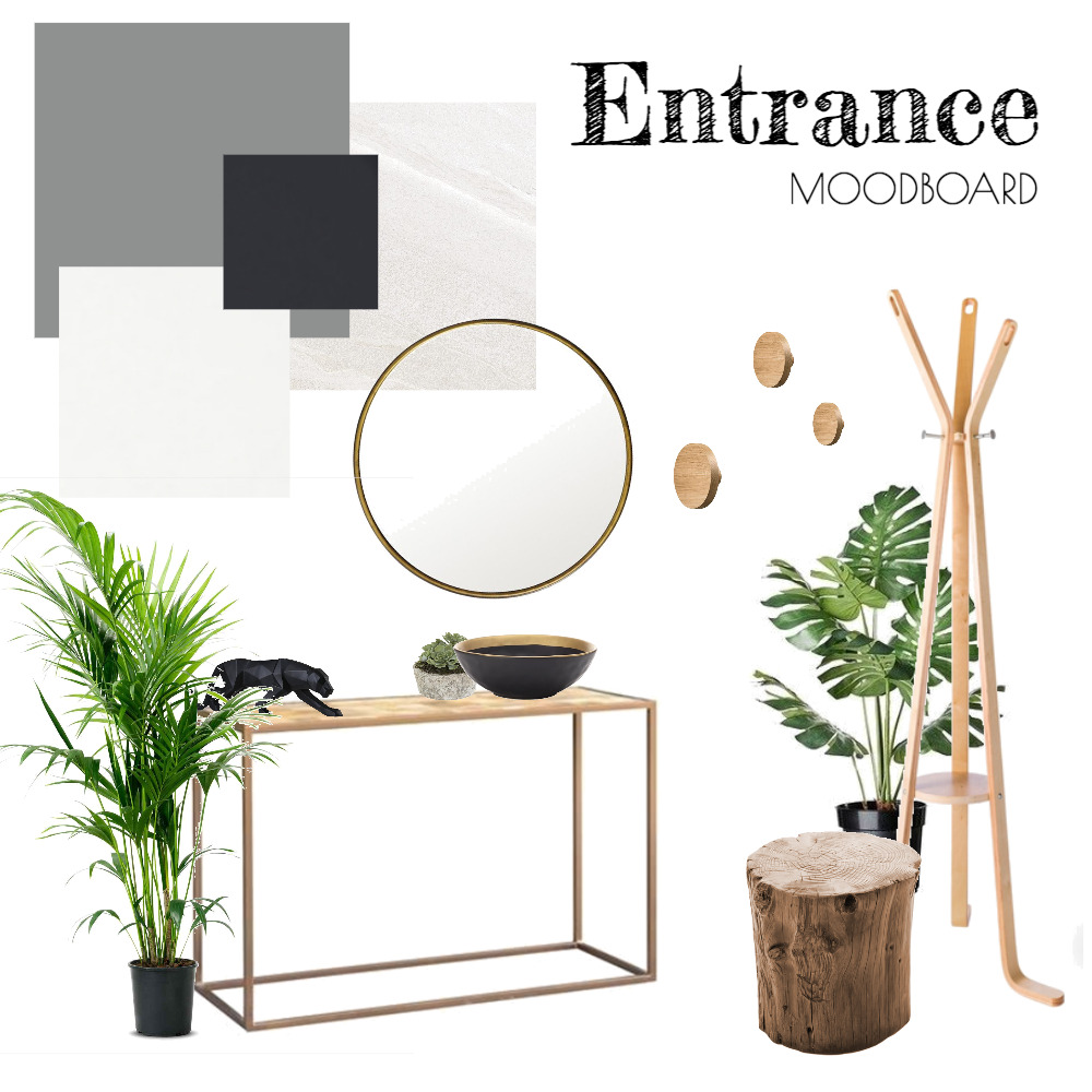 Entrance Mood Board by Tina on Style Sourcebook