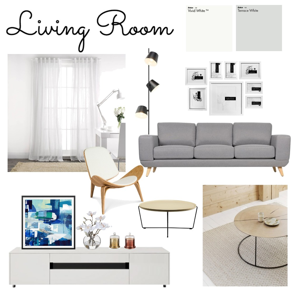 Project Kitty_Living Room Mood Board by clarayoung on Style Sourcebook