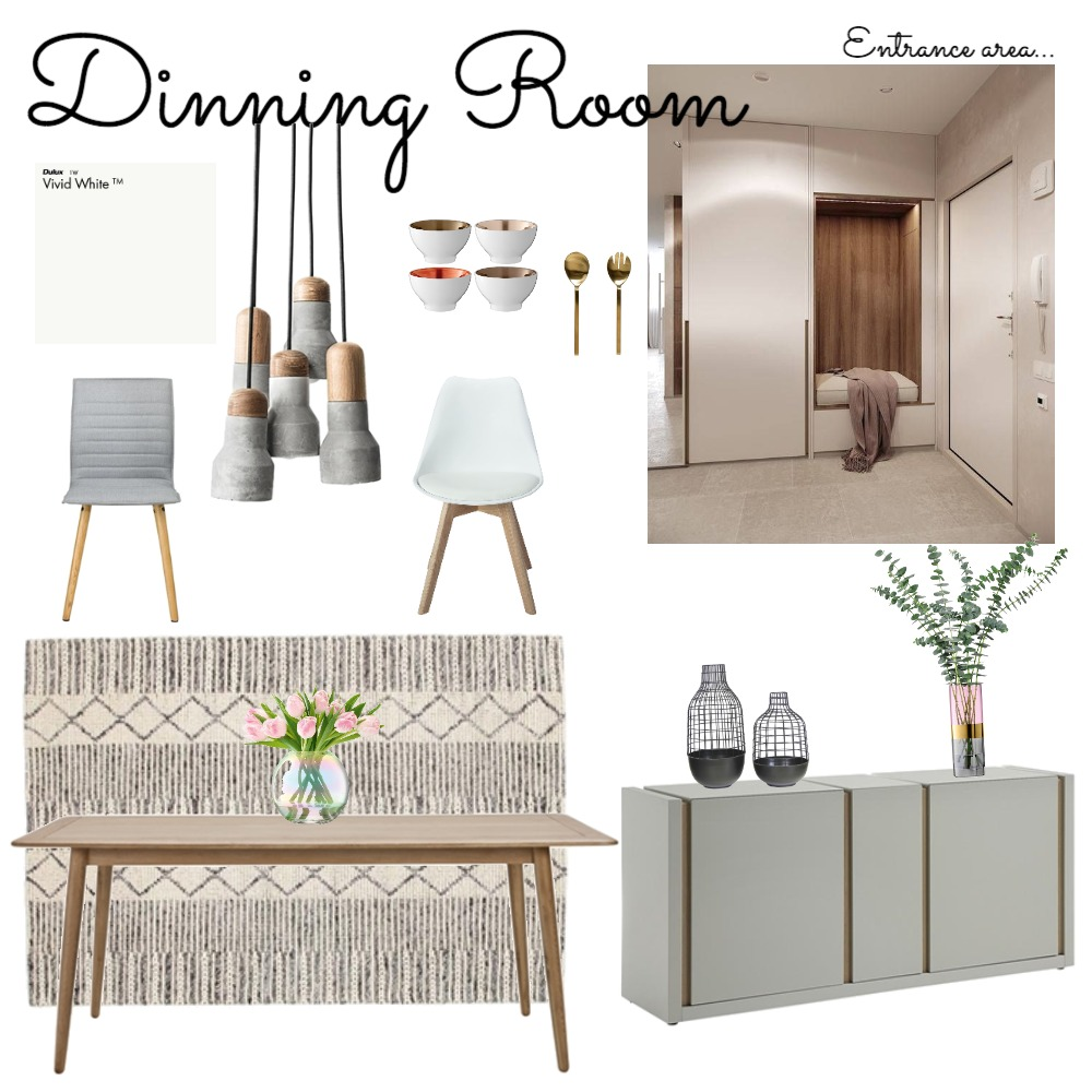 Project Kitty_Dinning Room Mood Board by clarayoung on Style Sourcebook
